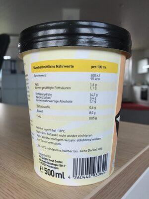 Pro Delight Banana Bang 500 ml - Nutrition facts