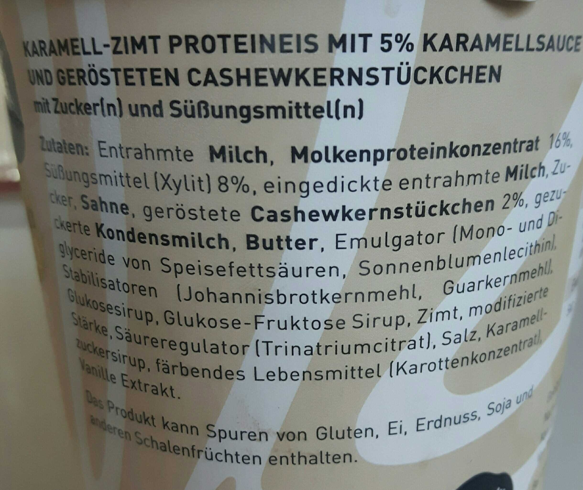 Pro Delight Lady Cinnamon 500 ml - Ingredients