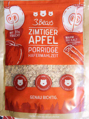 Porridge Zimtiger Apfel - Produit - fr