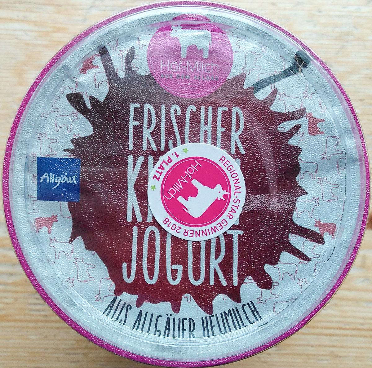Frischer Kirsch Jogurt - Produit - de