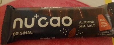 Nu+ cao Almond sea salt - Produkt - de