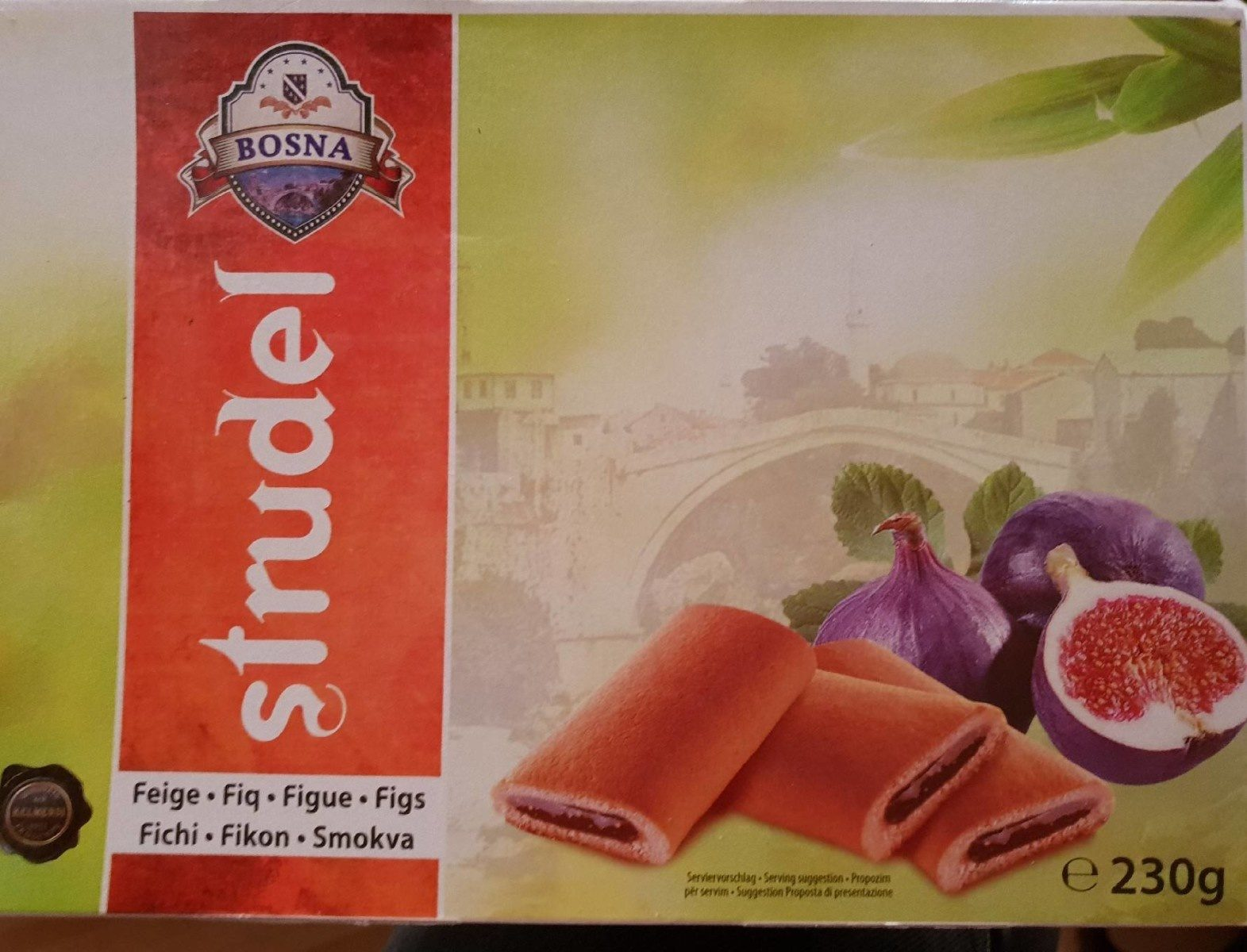 Strudel Figue - Product