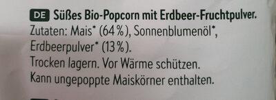 Wildcorn Erdbeere - Ingredienti - de