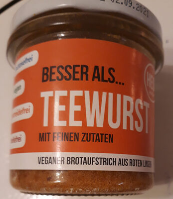 Besser als Teewurst - Product - de