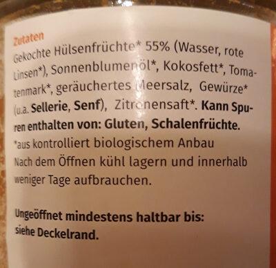 Besser als Teewurst - Ingrediënten - de