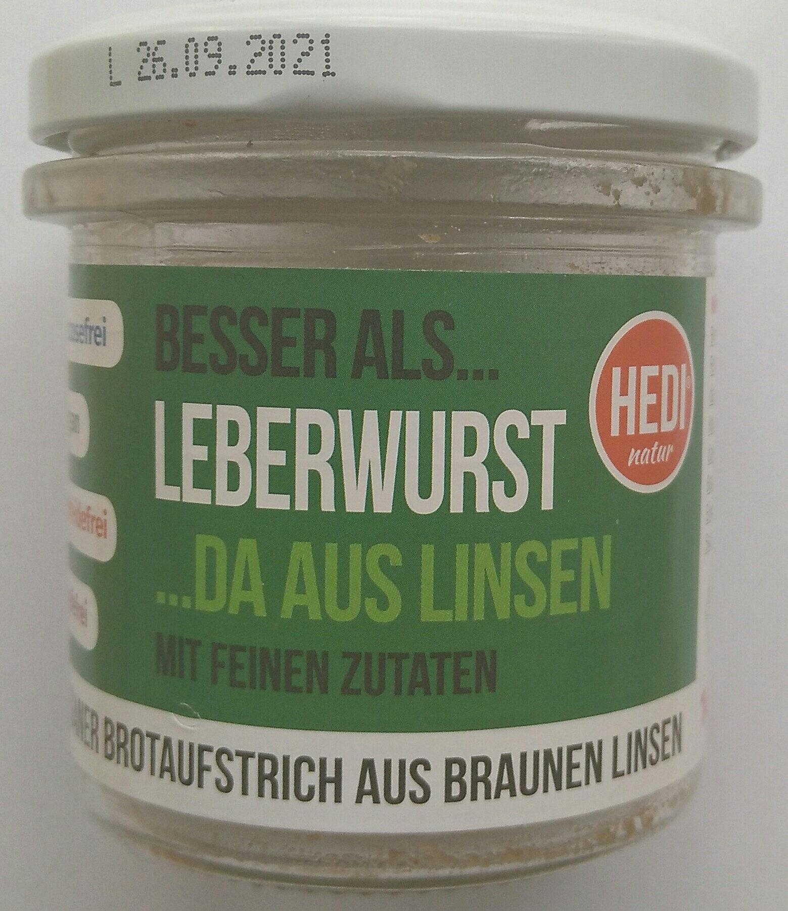 Besser als Leberwurst - Produit