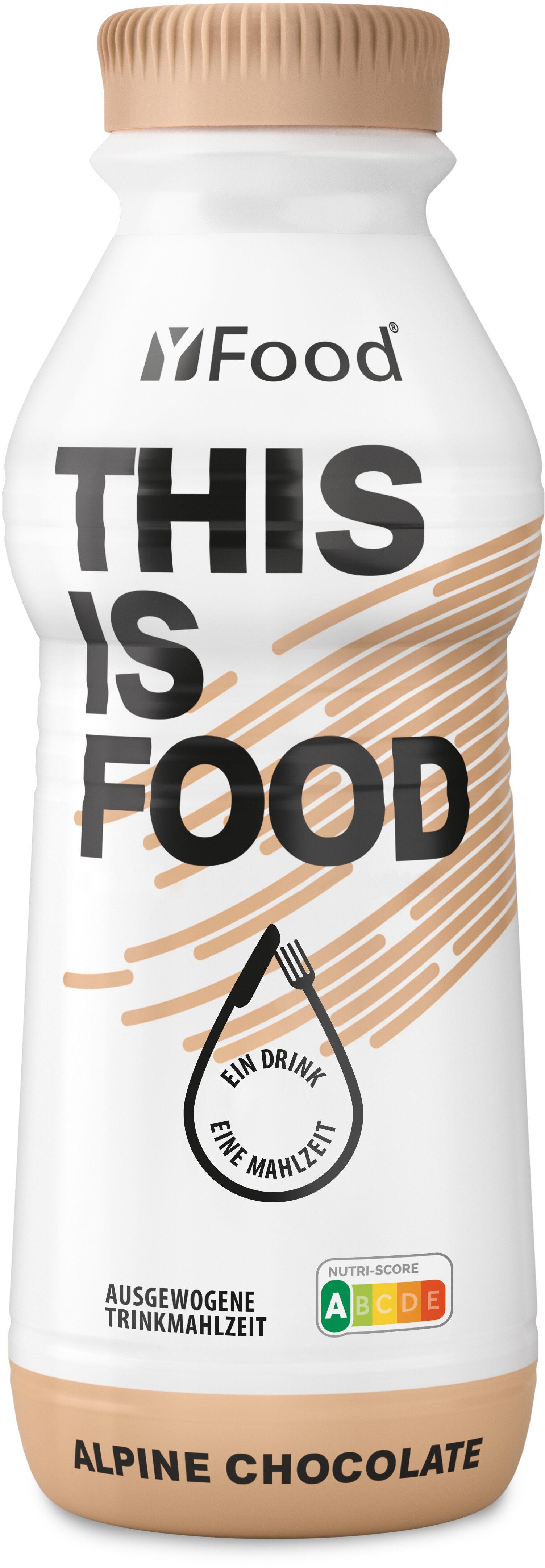 YFood Drink Alpine Chocolate - Produkt - de