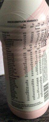 YFood Drink Fresh Berry - Nutrition facts - en