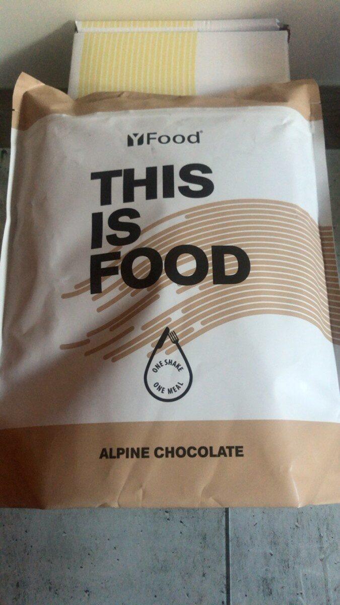 YFood Pulver Alpine Chocolate - Produit - fr