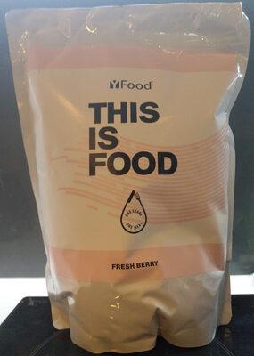 YFood powder Fresh Berry - Produit - en
