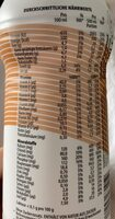 YFood Drink Salted Caramel - Nährwertangaben - de