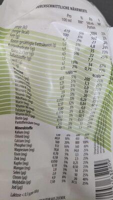 YFood Drink Heavenly Hazelnut - Informations nutritionnelles - fr