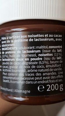 Fit Protéine Crème - Ingredienti - fr
