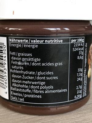 Fit Protéine Crème - Valori nutrizionali - fr