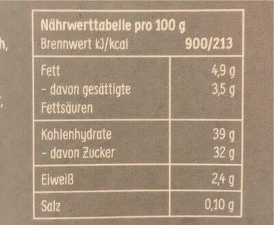 Muchos Kokos - Nährwertangaben - de