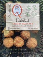 Habibis - Kirchererbsenbällchen mit Kräutern - Produit - de