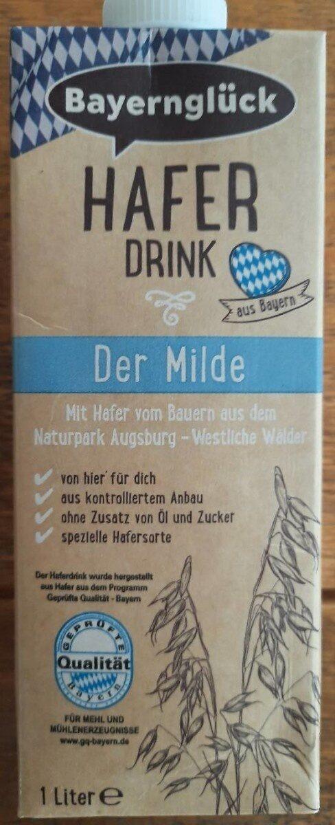 Hafer Drink - Der Milde - Produkt - de