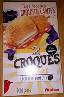 2 Croques Fromage - Product - fr