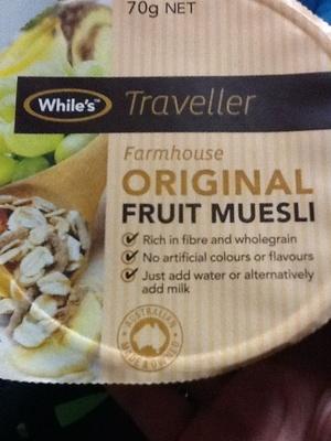 Farmhouse original fruit muesli - Product - en