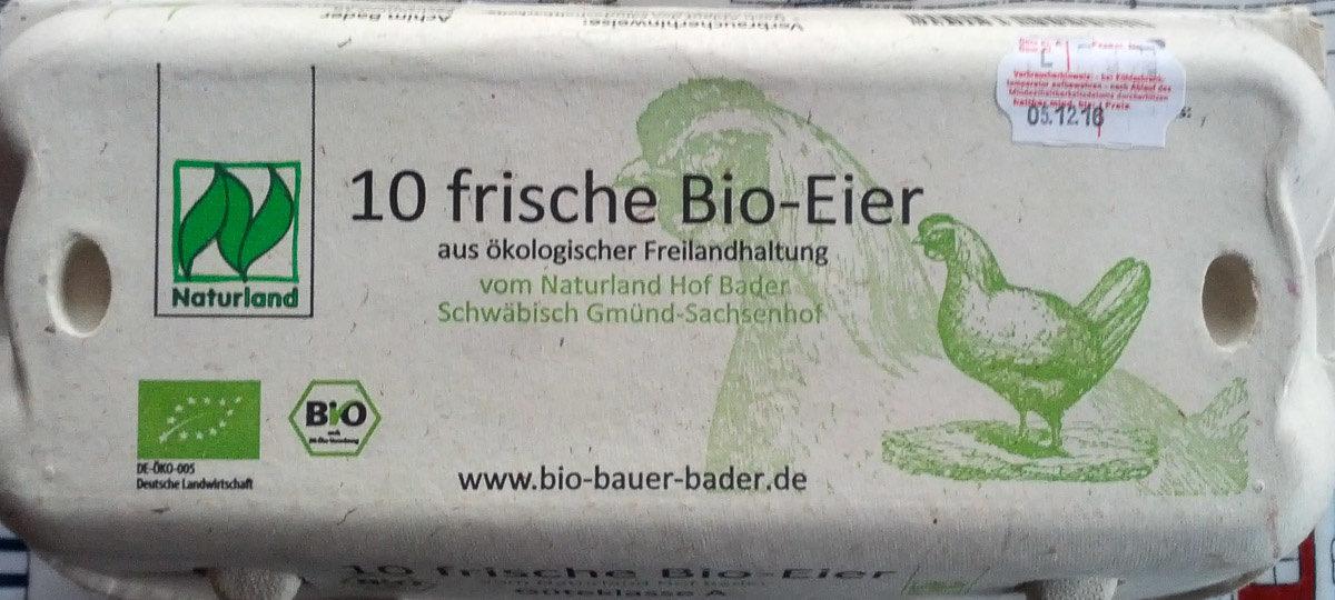 10 frische Bio-Eier - Produkt