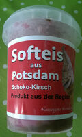 Softeis aus Potsdam Schoko-Kirsch - Produit - de
