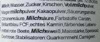 Softeis aus Potsdam Schoko-Kirsch - Ingrédients - de