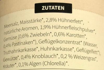 Hühnerbrühe Klassik - Ingredients