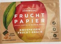 Fruchtpapier Apfel & Mango - Product