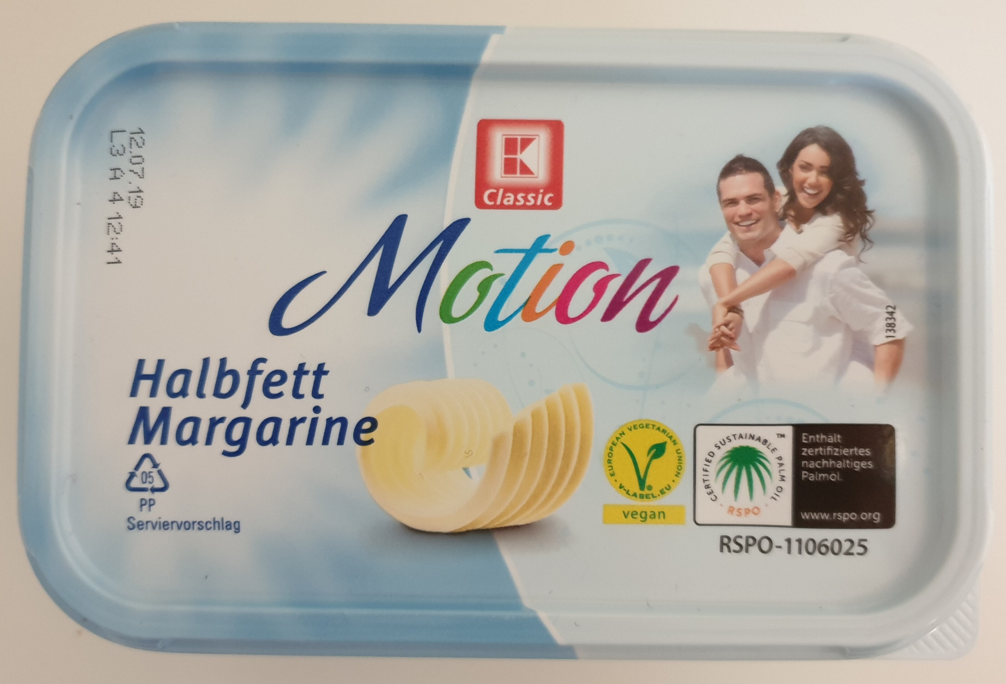 Motion Halbfettmargarine - Produit - de