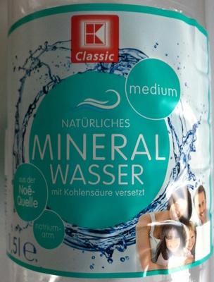 Mineralwasser Medium - Produit