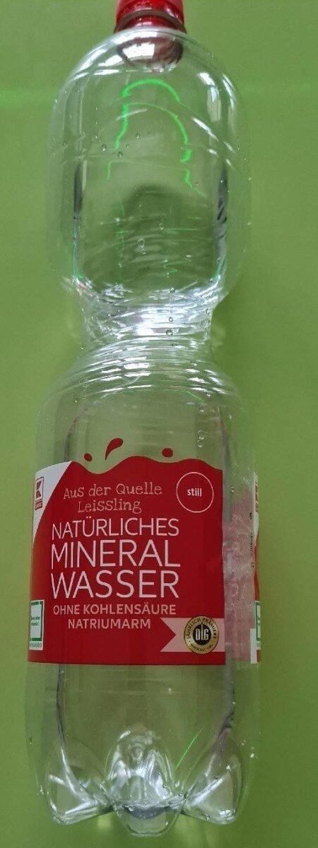 Natürliches Mineral Wasser - Product - de
