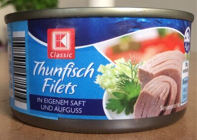 Thunfisch in Saft/Aufguss - Produkt - de