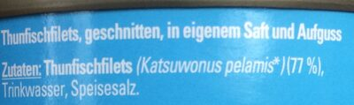 Thunfisch in Saft/Aufguss - Zutaten - de