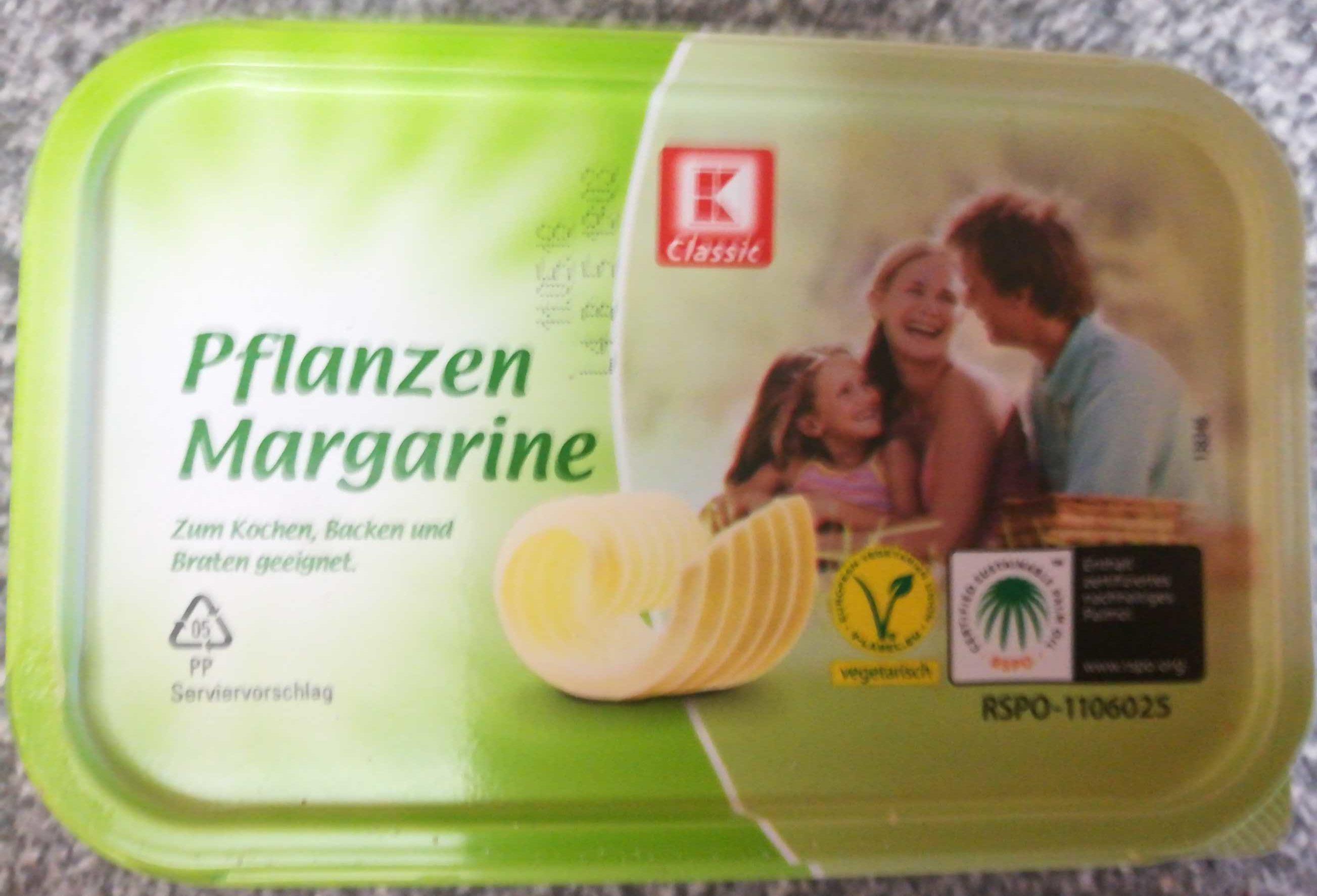K Classic Pflanzen Margarine - Produit - de