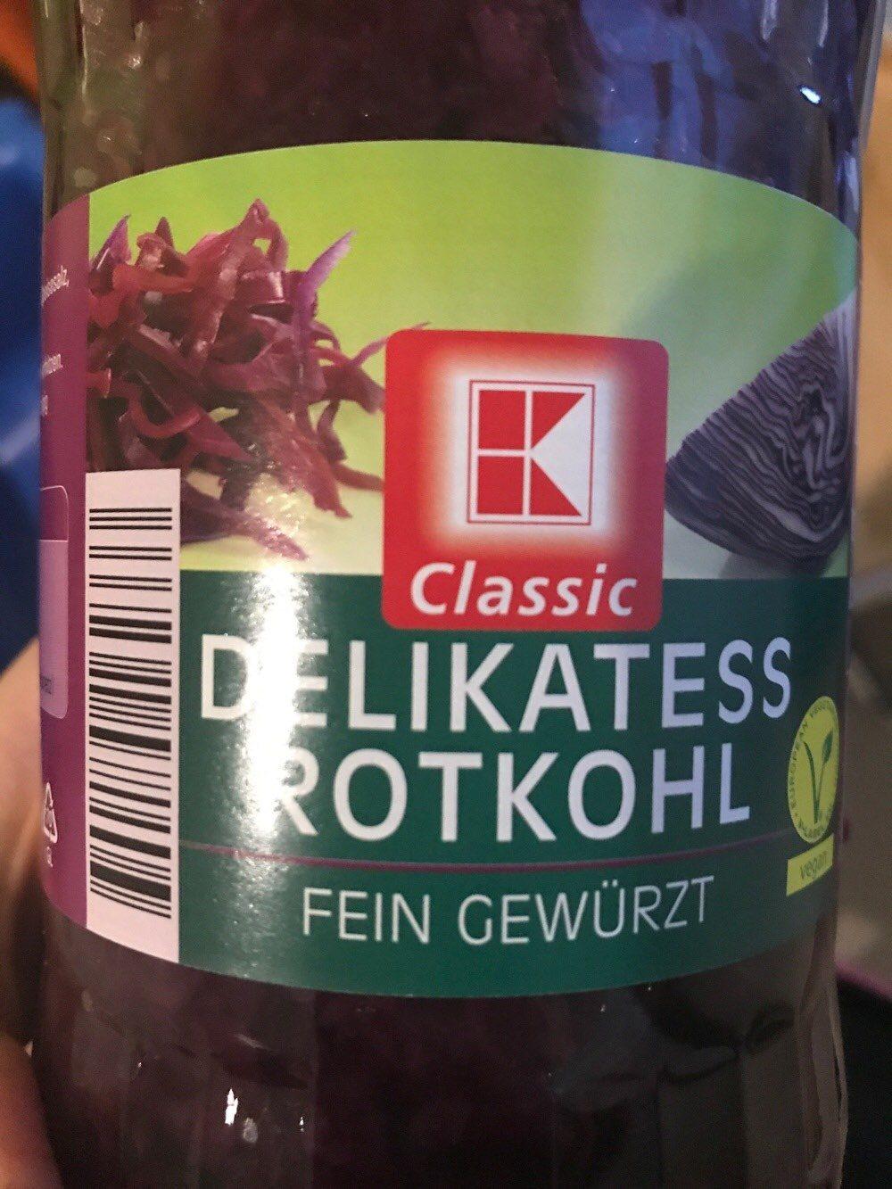 Delikatess Rothkohl - Produkt