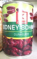 Kidney Bohnen dunkelrot - Produit - fr