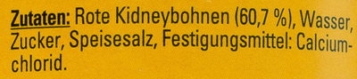 Kidney Bohnen dunkelrot - Ingredients