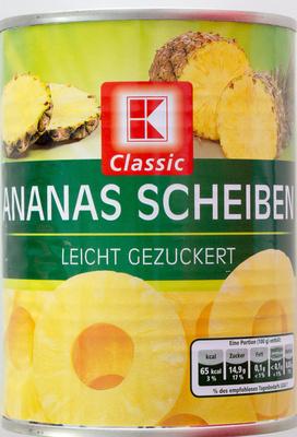 Ananas Scheiben - Prodotto - de
