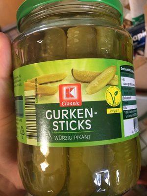 Gurkensticks Würzig-Pikant - Product - de