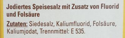 Jod Salz - Ingrédients