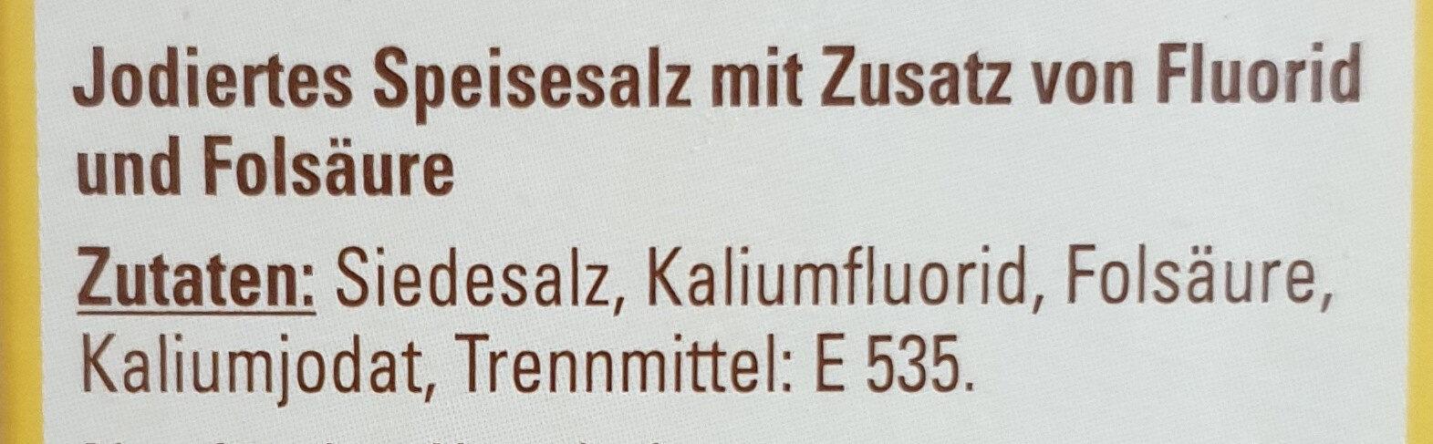 Jod Salz - Ingrédients - de