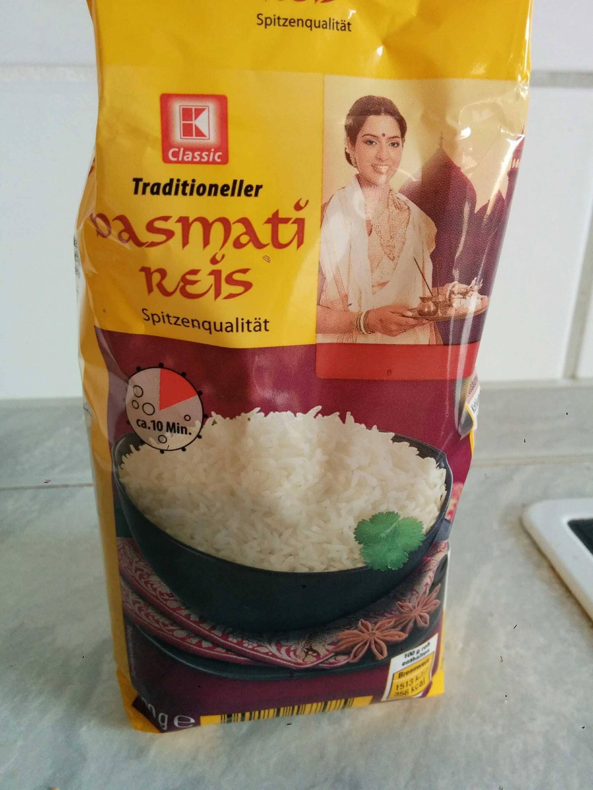 Basmati Reis - Produkt