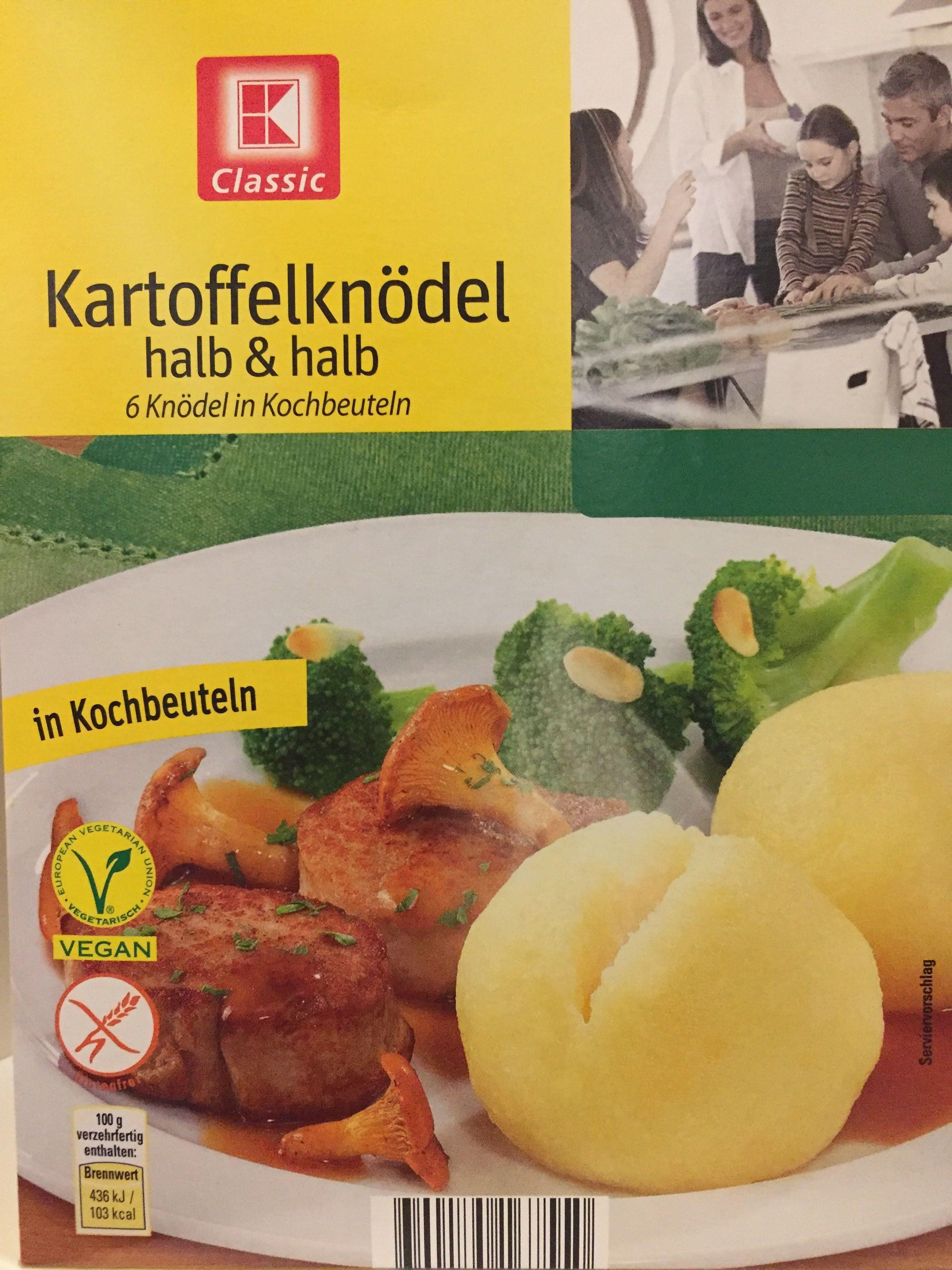 Kartoffelknödel halb&halb - Product - de