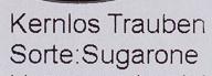 Kernlose Trauben - Ingrediënten