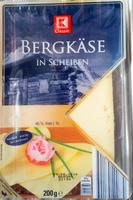 Bergkäse in Scheiben - Produit
