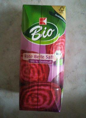 Rote Bete Saft 100% Direktsaft, Bio - Produit