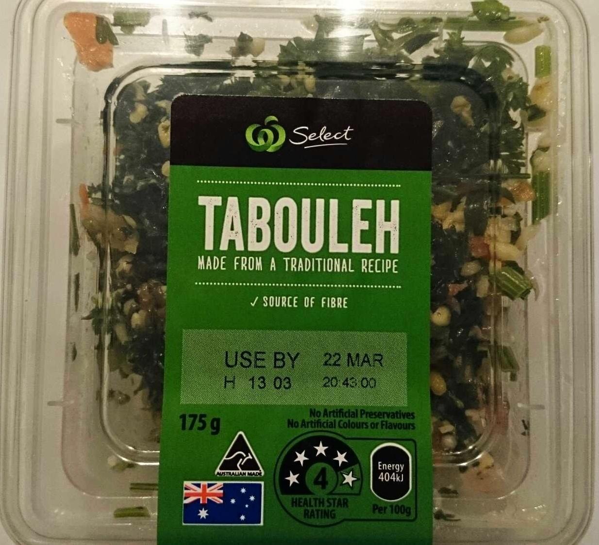 Tabouleh - Produit - en