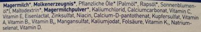 Bio Anfangsmilch 1 - Ingrédients - de