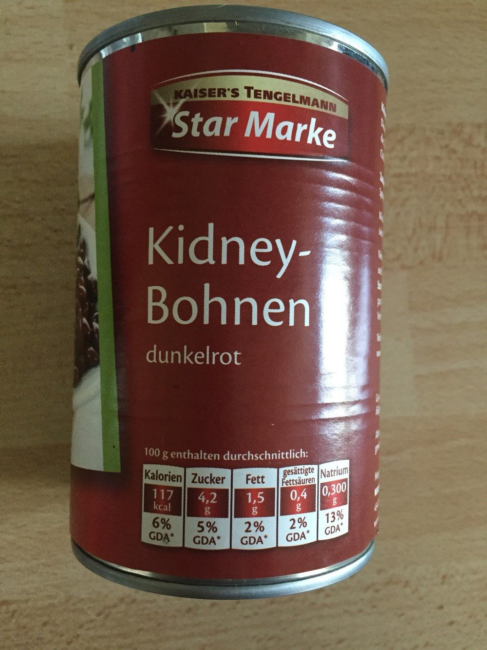 Kidney-Bohnen dunkelrot - Product