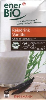 Reisdrink Vanille - Product